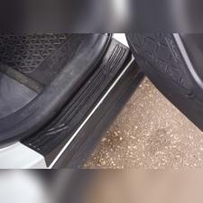 Накладки на внутренние пороги дверей Toyota Rav4 2019
