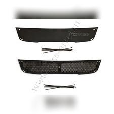 Защитная сетка и заглушка решетки переднего бампера Great Wall Hover H5 2011-2016