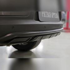 Тюнинг обвес заднего бампера Вар. 2 Kia Sportage 2014—2015