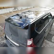 Багажник, поперечины на штатные рейлинги Lexus GX 460 (полированные)