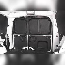 Обшивка задних дверей 2мм (со скотчем 3М) Lada Largus (фургон) 2012—н.в.