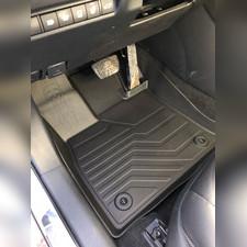 """Ковры салона Toyota Rav 4 2019 - нв """"3D Lux"""", аналог ковров WeatherTech (США)"""