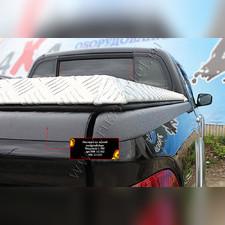 Накладка на задний откидной борт (со скотчем 3М) Mitsubishi L200 2014—2015