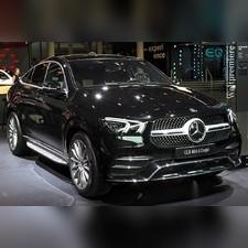 Пороги, подножки, ступени Mercedes-Benz GLE Coupe 2019 - нв (OEM)