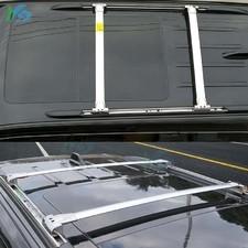 Поперечины аэродинамические на рейлинги для Jeep Grand Cherokee (полированные)