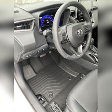 """Ковры салона Toyota Corolla 2018 - нв New """"3D Lux"""" (комплект), аналог ковров WeatherTech(США)"""