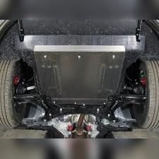 Защита картера и КПП (алюминий) 4мм Geely Coolray 2020-