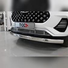 Решетка радиатора 12 мм Chery Tiggo 7 PRO 2020