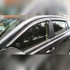 "Дефлекторы, ветровики окон, VW POLO V (2010-) седан ""TT"""