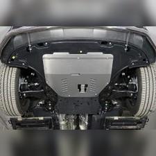 Защита картера и КПП (алюминий) 4мм Kia Sorento 2020