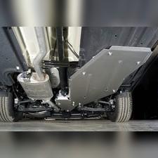 Защита бака и адсорбера (алюмний) 4мм Kia Sorento 2020