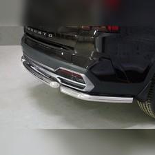Защита задняя (короткая) 60,3 мм Kia Sorento 2020