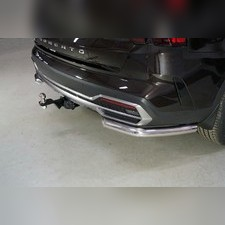 Защита задняя (уголки) 60,3 мм Kia Sorento 2020