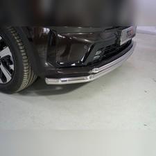Защита передняя нижняя (двойная) 60,3/42,4 мм Kia Sorento 2020