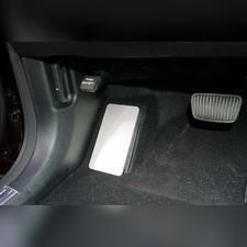 Накладка площадки левой ноги (лист алюминий 4мм) Kia Sorento 2020
