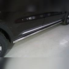 Пороги труба 60,3 мм Kia Sorento 2020
