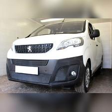 Защита радиатора боковая Peugeot Expert 2018-н.в. стандартная черная