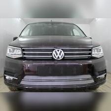 Защита радиатора нижняя Volkswagen Caddy 2015-н.в. стандартная хром