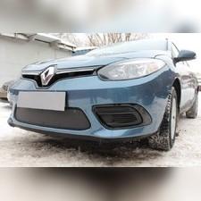 Защита радиатора верхняя Renault Fluence 2013-н.в. стандартная зимний пакет
