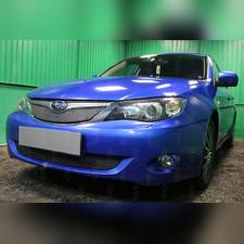 Защита радиатора верхняя Subaru Impreza III (2.0) 2007-2011 стандартная зимний пакет
