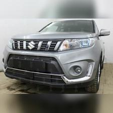 Защита радиатора верхняя Suzuki Vitara 2018-н.в. стандартная зимний пакет