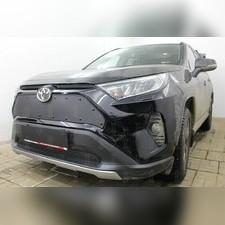 Защита радиатора верхняя Toyota Rav 4 2019-н.в. стандартная зимний пакет