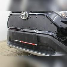 Защита радиатора верхняя Toyota Rav 4 2019-н.в. стандартная с парктроником и камерой зимний пакет