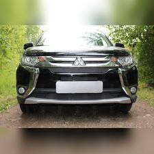 Защита радиатора нижняя Mitsubishi Outlander III 2015-2018 OPTIMAL зимний пакет