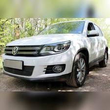 Защита радиатора Volkswagen Tiguan (рестайлинг) 2011-2016 OPTIMAL зимний пакет