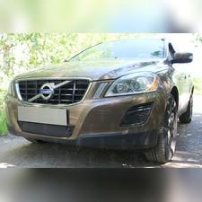 Защита радиатора нижняя Volvo XC60 2008-2013 с парктроником OPTIMAL зимний пакет