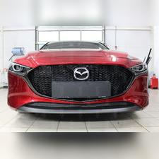 Защита радиатора нижняя Mazda 3 2019-н.в. PREMIUM черная