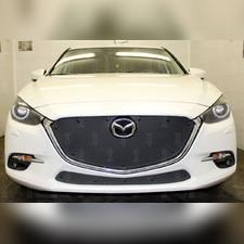 Защита радиатора верхняя без рамки Mazda 3 2016-2019 PREMIUM зимний пакет