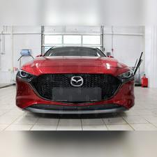 Защита радиатора нижняя Mazda 3 2019-н.в. (хэтчбек) PREMIUM зимний пакет