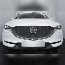 Защита радиатора верхняя Mazda CX-5 2017-н.в. PREMIUM зимний пакет