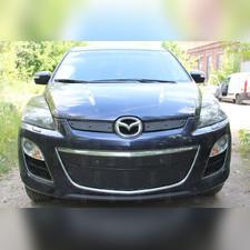 Защита радиатора нижняя Mazda CX7 2009-2013 PREMIUM зимний пакет