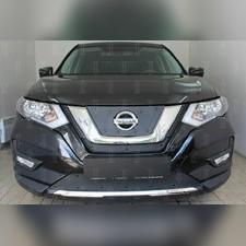 Защита радиатора средняя Nissan X-Trail T32 2018-н.в. PREMIUM зимний пакет