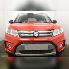 Защита радиатора Suzuki Vitara 2014-2018 PREMIUM зимний пакет