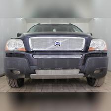 Защита радиатора верхняя Volvo XC90 2002-2006 PREMIUM хром
