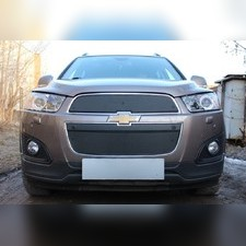 Защита радиатора верхняя Chevrolet Captiva 2013-н.в. PREMIUM зимний пакет