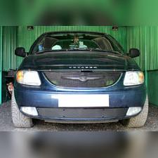 Защита радиатора нижняя Chrysler Voyager IV 2001-2004 PREMIUM зимний пакет
