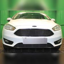 Защита радиатора нижняя Ford Focus III 2014-н.в. PREMIUM зимний пакет