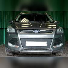 Защита радиатора Ford Kuga II 2013-2016 PREMIUM зимний пакет