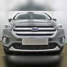 Защита радиатора нижняя Ford Kuga II 2016-н.в. PREMIUM зимний пакет