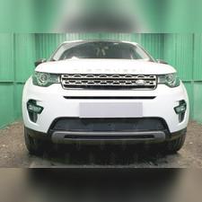 Защита радиатора Land Rover Discovery Sport 2014-н.в. PREMIUM зимний