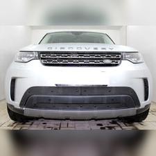 Защита радиатора Land Rover Discovery V 2017-н.в. (3 части) PREMIUM зимний