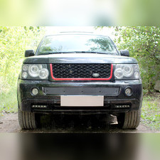 Защита радиатора средняя Land Rover Range Rover Sport I 2005-2009 PREMIUM зимний