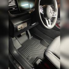 """Коврики салона Mercedes-Benz GLE Coupe 2020-нв C167, """"3D LUX"""", аналог ковров WeatherTech (США)"""