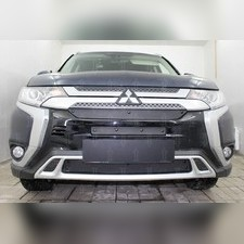 Защита радиатора верхняя Mitsubishi Outlander III 2018-н.в. PREMIUM зимний