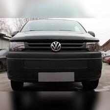 Защита радиатора Volkswagen T5 (Transporter, Multivan, Caravelle) 2009-н.в. PREMIUM зимний