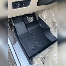 "Ковры салона, передние, Land Rover Discovery 5 2017 - нв ""3D Lux"", аналог ковров WeatherTech (США)"